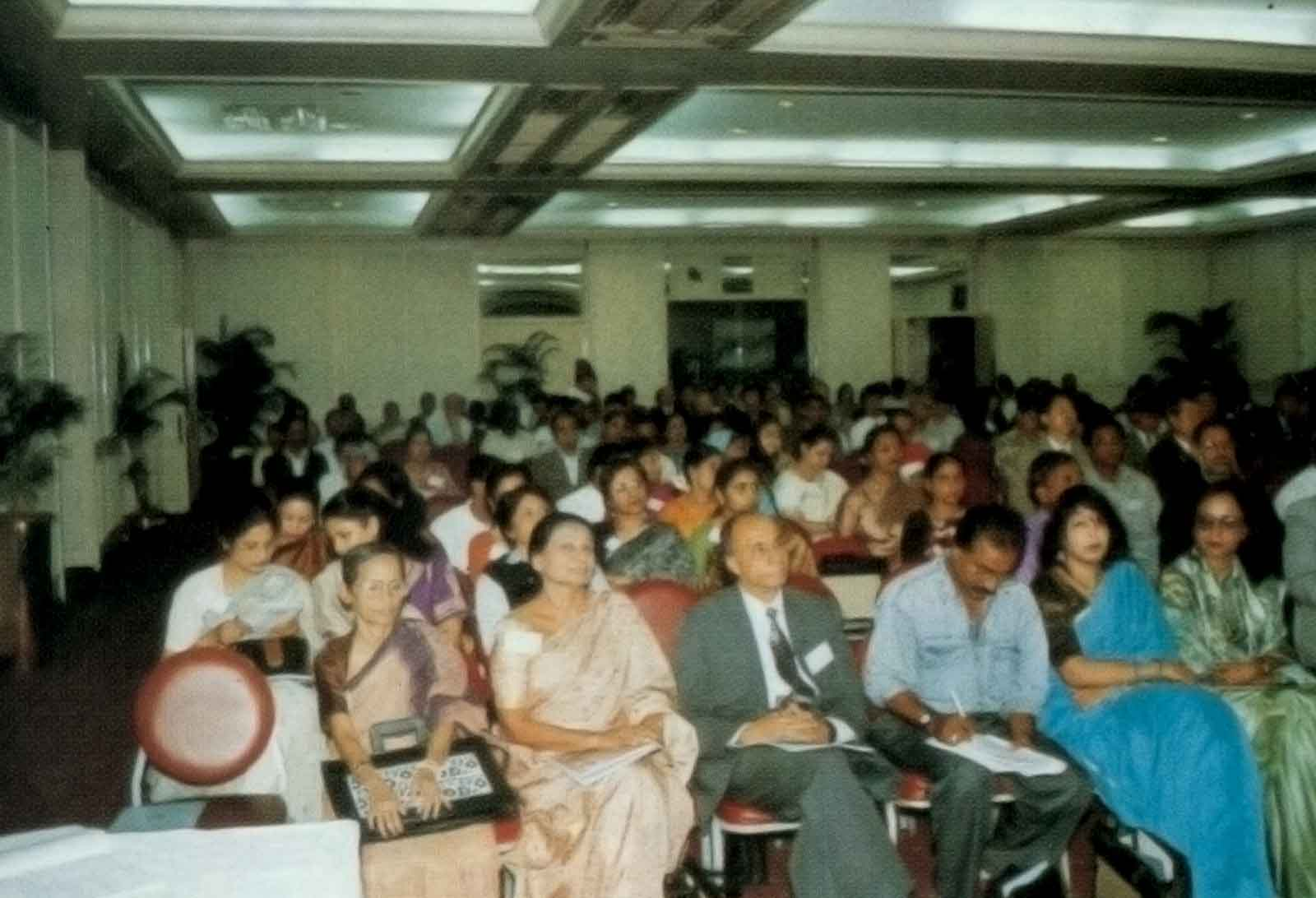 A fraction of audience at the 13th ACMR Bangladesh, 1997